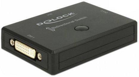 Delock Switch DVI 1x2 Bidirectional