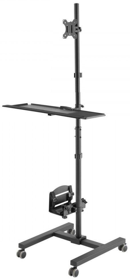 Televizoriaus Laikiklis Maclean Mc 793 Professional Stand On Wheels
