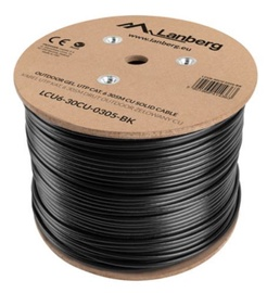Lanberg Cable CAT 6 UTP Black 305m