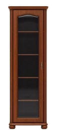 Black Red White WIT70L Glass Door Cabinet Cherry