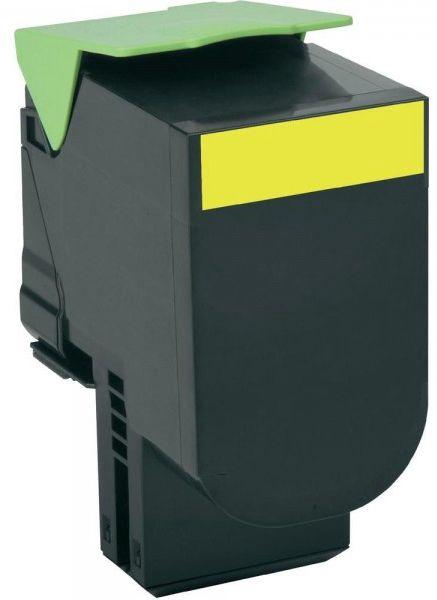 Lazerinio spausdintuvo kasetė Lexmark 80C2HY0 Yellow