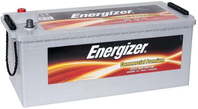 Akumuliatorius Energizer Commercial Premium ECP3, 12 V, 180 Ah, 1000 A