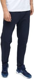 Audimas Stretch Cotton Regular Fit Mens Sweatpants Navy Blazer 184/L