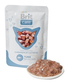 Konservi kaķiem Brit Care Cat Tuna Pouch 0,08kg