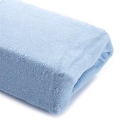 Okko Bed Sheet Terry Light Blue 140x200cm