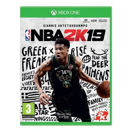 Kompiuterinis žaidimas NBA 2K19, Xbox One
