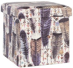 Home4you Box Ventura 36x36xH36cm Feathers