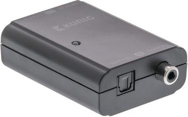 Konig Digital Audio Converter 1 x TosLink Female + 1 x S/PDIF (RCA) Female KNACO2502