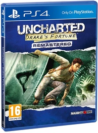 Игра для PlayStation 4 (PS4) Uncharted: Drake's Fortune Remastered PS4