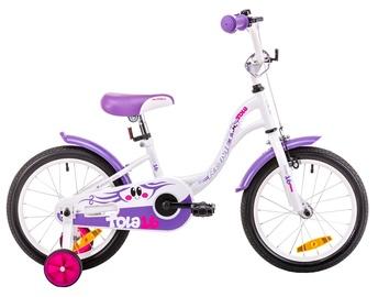 Vaikiškas dviratis Romet Tola 16 White Violet 19