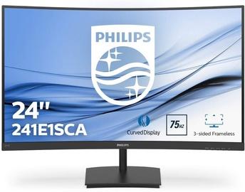 """Monitorius Philips E-Line 241E1SCA, 23.6"""", 4 ms"""