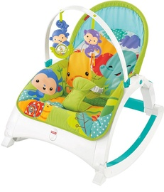 Sūpuoklė Fisher Price Rainforest Friends Newborn To Toddler Portable