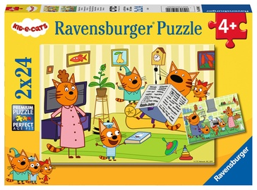 Ravensburger Puzzle Kid E-Cats 2x24pcs 05080
