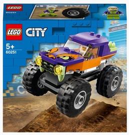 Конструктор LEGO City Монстр-трак 60251, 55 шт.