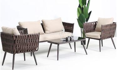 Комплект уличной мебели Masterjero A114, коричневый, 1-4 места
