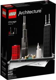 Konstruktor LEGO Architecture Chicago 21033, 444 tk
