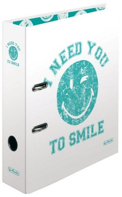 Herlitz Binder Smiley 11223013 White