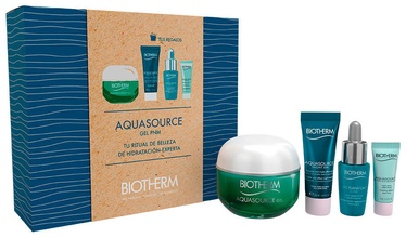 Biotherm Aquasource Gel 50ml + 20ml Night Spa Balm + 7ml Life Plankton Elixir + 3ml Eye Cream