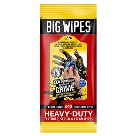Valymo servetėlės Big Wipes, 40 vnt.