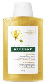 Šampūns Klorane Ylang-ylang Sun Radiance Nourishing, 200 ml