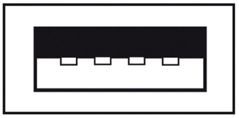 Assmann Cable USB/USB Black 1.8 m