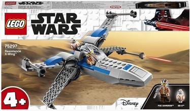 Конструктор LEGO Star Wars Истребитель Сопротивления типа X 75297, 60 шт.