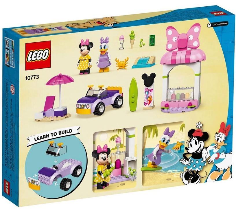 Конструктор LEGO Mickey and Friends Магазин мороженого Минни 10773, 100 шт.