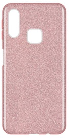 Wozinsky Glitter Shining Back Case For Samsung Galaxy A40 Bright Pink
