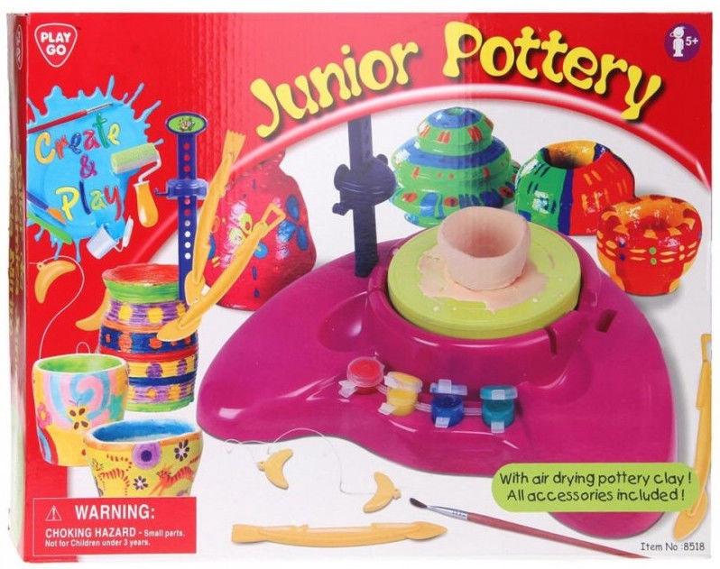 Kūrybinis rinkinys PlayGo Junior Pottery 8517
