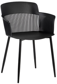 Home4you Chairs Toby 4pcs Black
