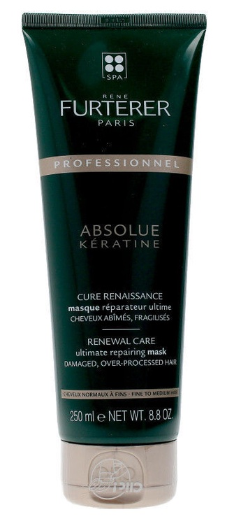 Kaukė plaukams Rene Furterer Absolue Keratine Renewal Care Ultimate Repairing Mask, 250 ml