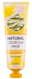 Missha Natural Color Clay Mask 137g Yellow Clay