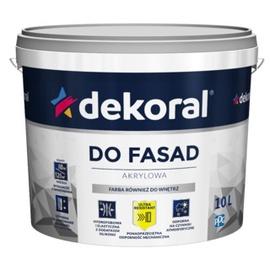Krāsa fasādēm Dekoral Polinit, 1 l, balta