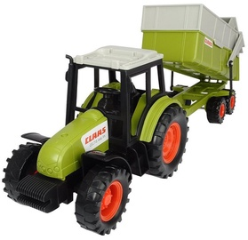 Dickie Toys Claas Tractor With Trailer 203736004
