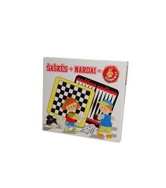Stalo žaidimas Šaškės ir nardai
