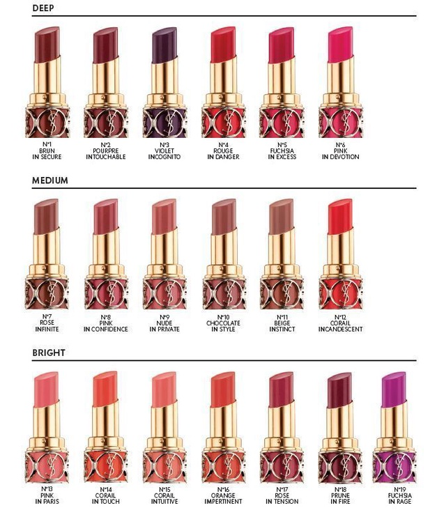 Yves Saint Laurent Rouge Volupte Shine Lipstick 4.5g 16