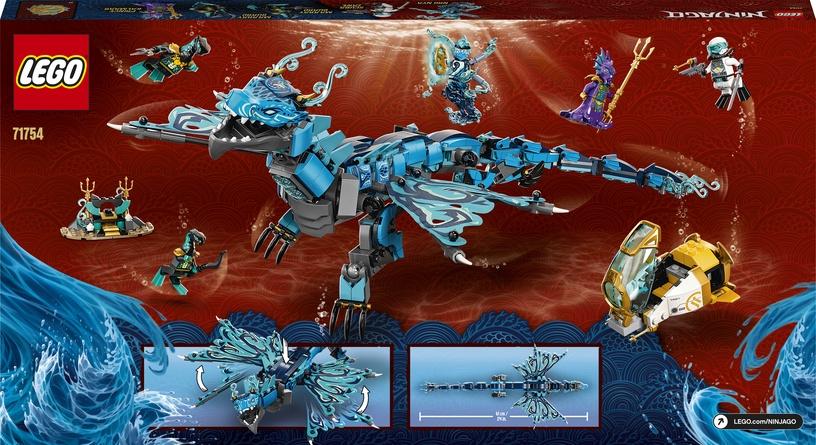 Конструктор LEGO Ninjago Water Dragon 71754, 737 шт.