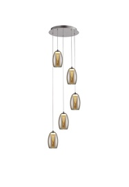 LAMPA GRIESTU MD1622-5B AMBER 5X5W LED
