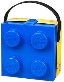 LEGO Lunch Box With Handle Blue