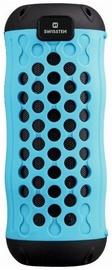 Belaidė kolonėlė Swissten X-Boom Outdoor Carabiner Silikon Bluetooth Speaker Blue