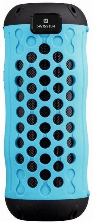 Swissten X-Boom Outdoor Carabiner Silikon Bluetooth Speaker Blue