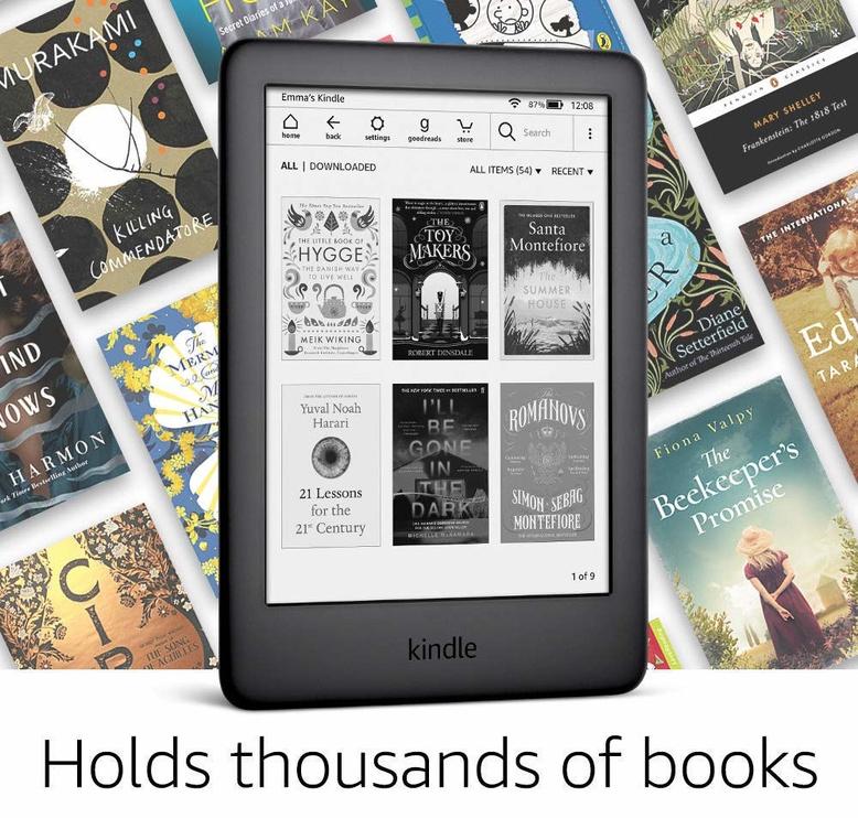 Elektroninė knygų skaityklė Amazon Kindle 10 Black with Special Offers, 4 GB