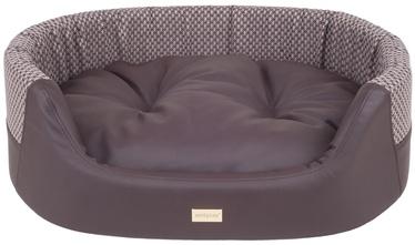 Amiplay Morgan Dog Ellipse Bedding S 54x45x16cm Brown