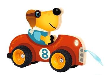 Djeco Pull Along Toys Terreno Car