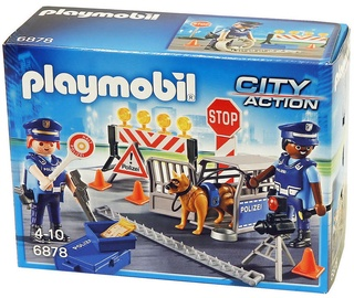 Playmobil City Action Police Roadblock 6878