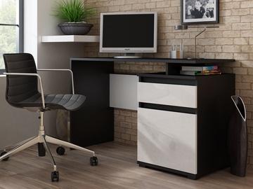 Kirjutuslaud Pro Meble Milano PKC 105 Black/White