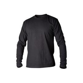 Marškinėliai vyriški ilgomis rankovėmis Top Swede 138012-005, juodi, XXL