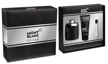 Набор для мужчин Mont Blanc Legend 100 ml EDT + 100 ml Aftershave Balm + 7.5 ml EDT