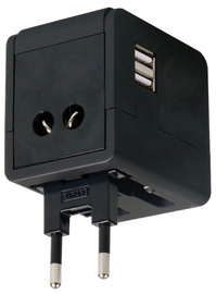 REISIADAPTER OMEGA 4IN1 USB MUST 43645