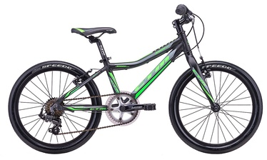 "Vaikiškas dviratis CTM Jerry 3.0 20"" Black Green 18"